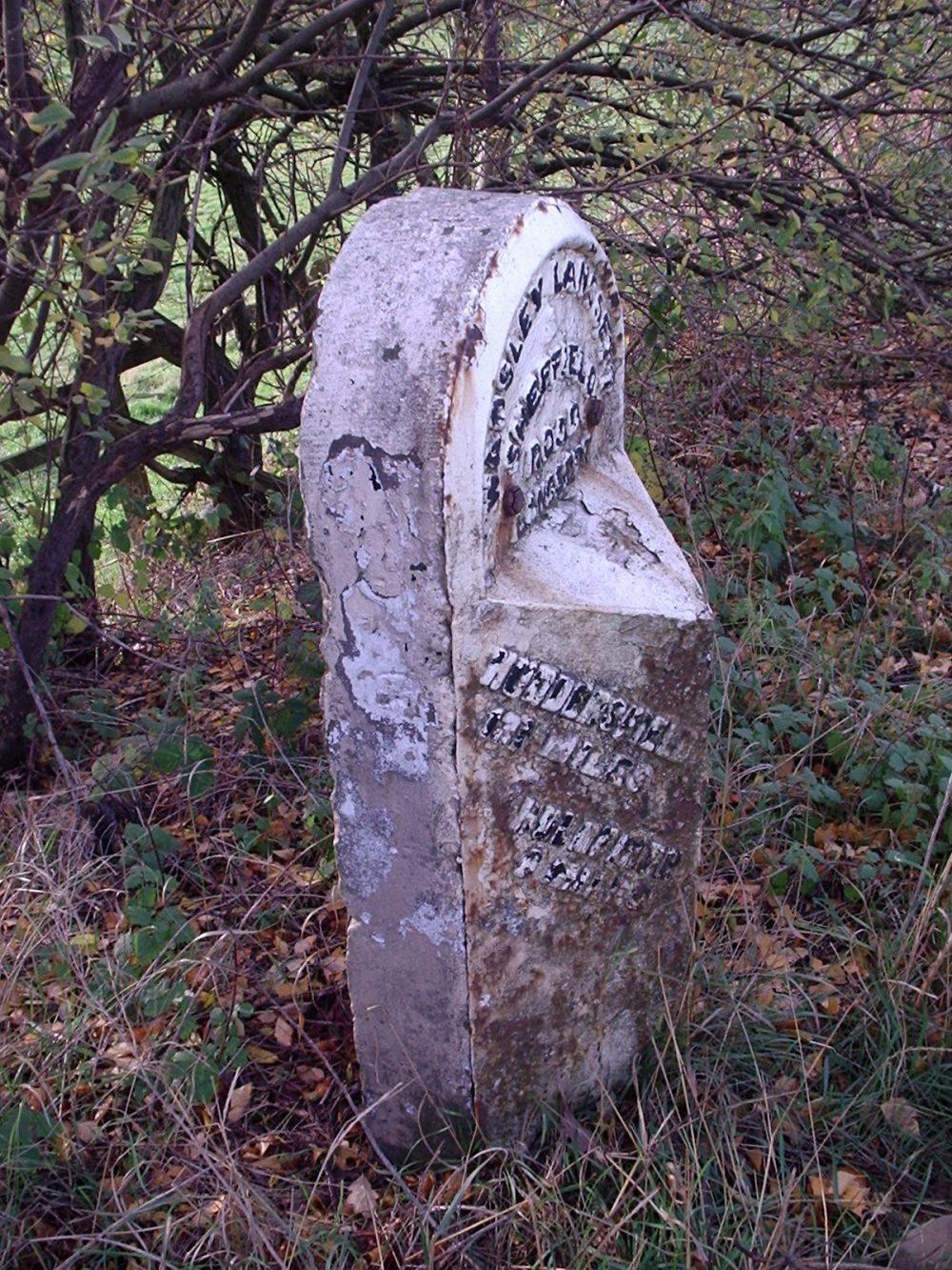 Highways England restoring historic mileposts in Yorkshire
