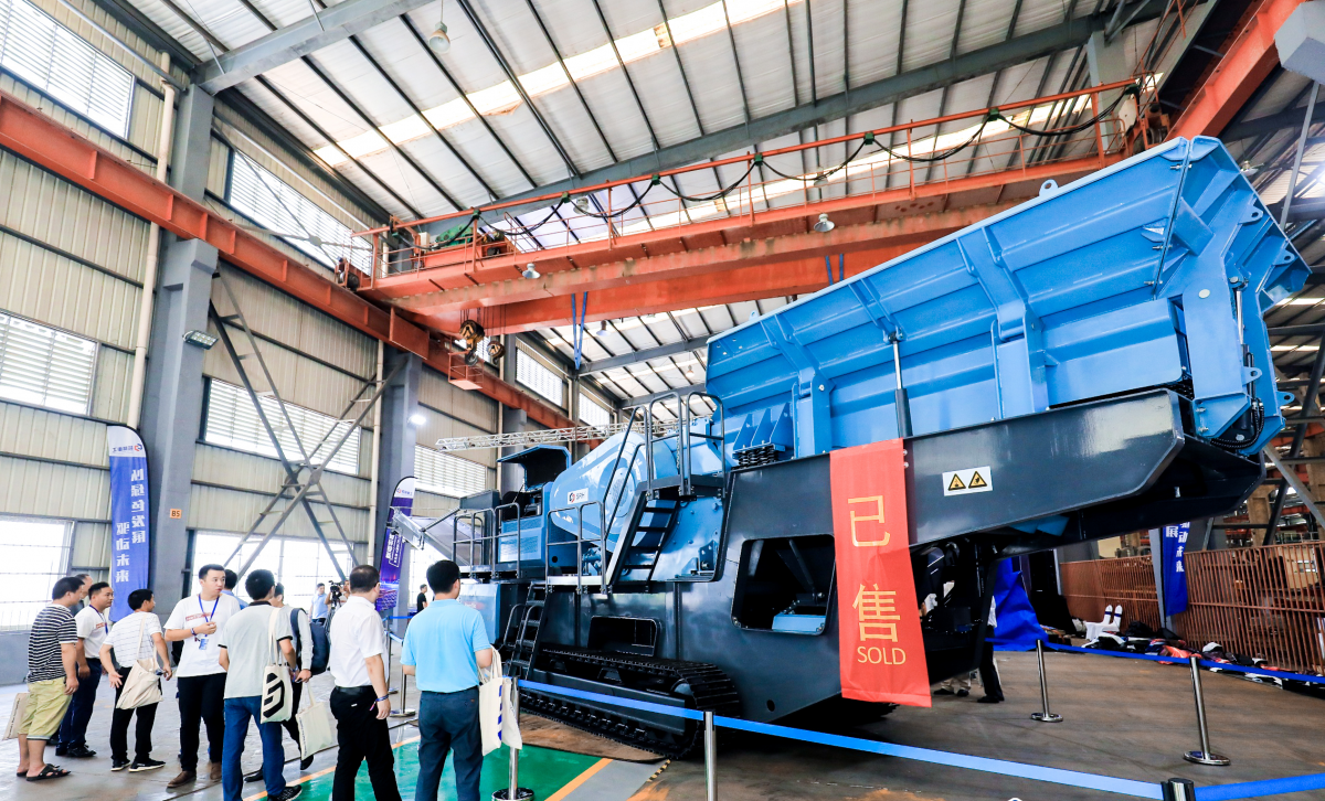 Metso's Shaorui launches new mobile aggregates equipment range in China
