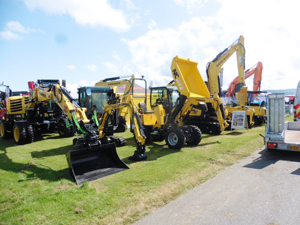 Scotland's Black Isle Show a huge success for Chris Knight Plant Sales and Yanmar