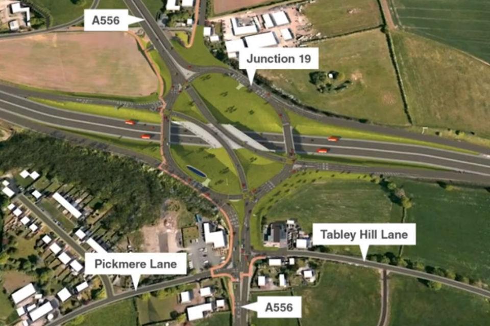 Highways England holding information events for major Knutsford M6 junction works