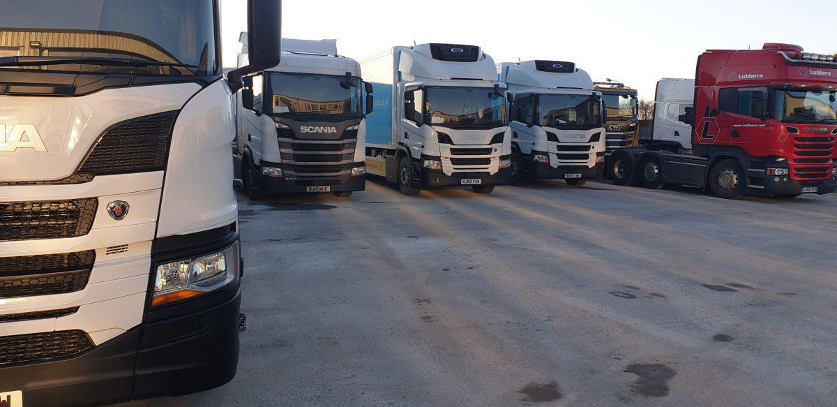 Scania depot in Newcastle expertly resurfaced by Miles Macadam