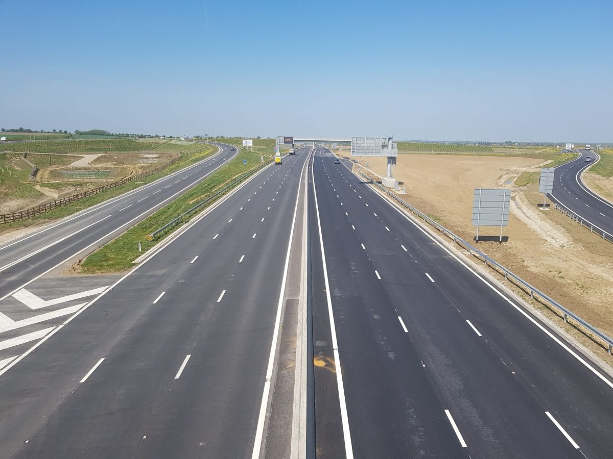 Aggregate Industries completes major A14 works ahead of schedule