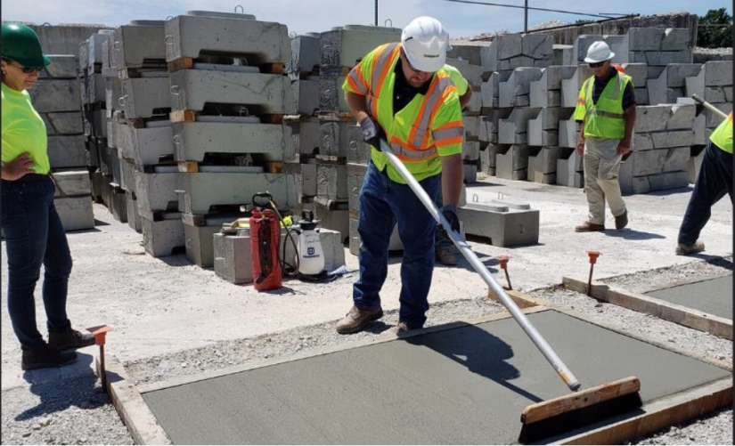 PennDOT concrete finisher certification