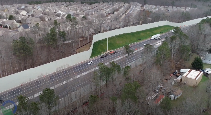 I-85 widened first phase GDOT